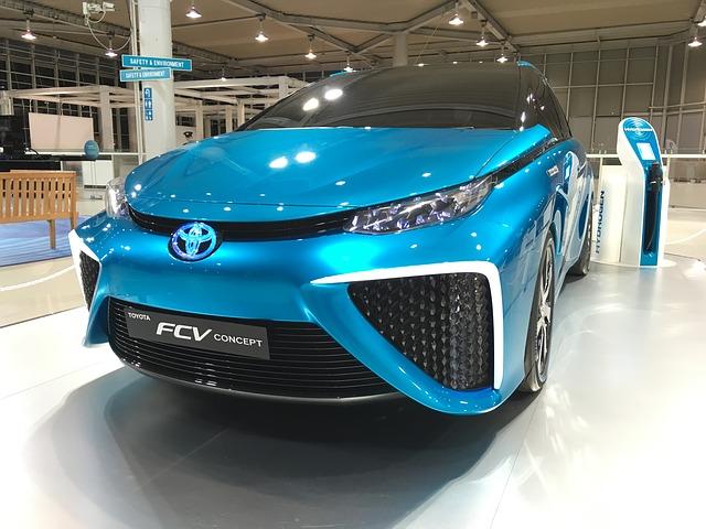 modrá Toyota
